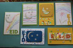 Eid card - kids artwork