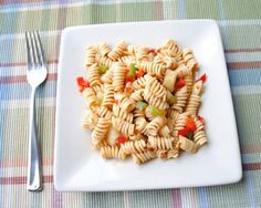 Italian Pasta Salad via Eat Yourself Skinny