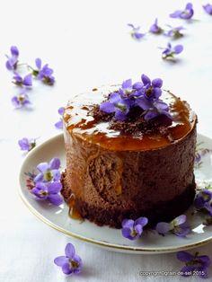 grain de sel - salzkorn: Mousse au Chocolat - Törtchen... mit Schmiss
