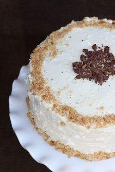 Chocolate Toasted Marshmallow Cake
