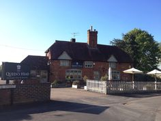 The Queen's Head In East Clandon, Surrey basking in the spring sunshine!