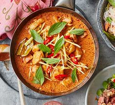 Forget ordering takeaway and make your own Thai red curry at home. This classic dish takes just 15 minutes to prep and it's bursting with flavour