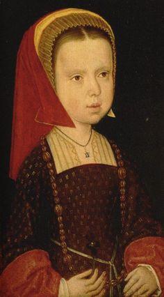 Eleanore of Austria (1498-1558), daughter of Philip of Austria and his wife Joanna of Castile, (Juan la loca) [niece of Katherine of Aragon].