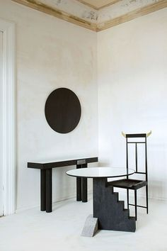 Pristine chamber: Georgian design firm Rooms brings its 'Wild Minimalism' collection to NY Read more at. Contemporary Interior, Modern Interior Design, Interior Styling, Interior Decorating, Cabinet Furniture, Cool Furniture, Modern Furniture, Furniture Design, Minimalist Interior