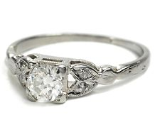In case you need to know...I like this Vintage engagement ring