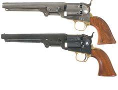 Colt 1851 Navy revolvers