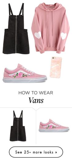 """nice"" by bedlov on Polyvore featuring Vans"