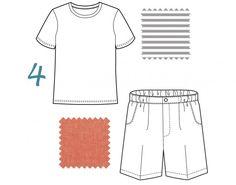 Kristin's summer edit: school bus tee and sketchbook shorts
