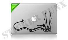 "The Hobbit MacBook Decal - Smaug the Terrible Dragon JRR Tolkien Art 11"" 13"" 15"" 17"" Pro Retina Air. 7.99, via Etsy."