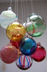 I remember going on family vacations, and watching a glass blowing artist make beautiful creations.