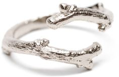 #leifshop.com             #ring                     #Sterling #Silver #Twig #Branch #Ring #LEIF         Sterling Silver Twig Branch Ring | LEIF                                       http://www.seapai.com/product.aspx?PID=223730