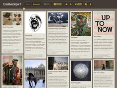 In the last two years or so, grid-based layouts have become very popular in web design. A grid is a series of intersecting horizontal and vertical lines that serve. Web Design Gallery, Web Design Trends, Web Design Inspiration, Creative Inspiration, Design Styles, Web Grid, Earth Tone Colors, Grid Layouts, Grid Design
