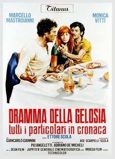 Dramma della gelosia, tutti i particolari in cronaca - di Ettore scola, IT 1970 #cinema #film #storia