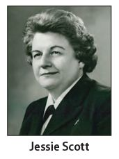Rear Admiral Jessie M. Scott (1915-2009),  was the  Assistant Surgeon General, U. S. Public Health Service and former Director of the Division of Nursing, Health Resources Administration in Health and Human Services. She frequently testified before congress of the value of the nursing division and nursing shortages in the United States. Scott and the division of nursing played an important role in the creation of the 1964 nurse training act. #nursinghistory