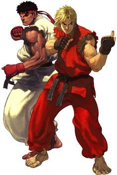 Ryu & Ken   Artist: Bengus