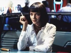 "Pulp Fiction, Uma Thurman. ''That's when you know you've met somebody really special. You can just shut the fuck up for a minute and comfortably share silence."" - Mia"