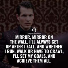 MIrror, mirror on the wall. - Learn how I made it to in one months with e-commerce! Quotable Quotes, Wisdom Quotes, Quotes To Live By, Me Quotes, Motivational Quotes, Inspirational Quotes, Qoutes, Strong Quotes, Positive Quotes