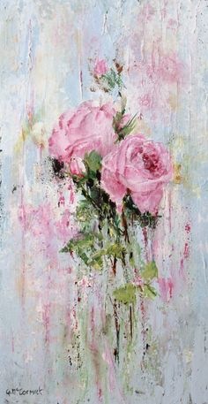 Textured Rose Study