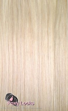 "Light Ash Blonde #60 - Regular 20"" Clip In Human Hair Extensions 125g Hair Extensions > 125g Regular"