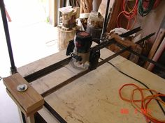 Evolution of my router planer #7: Version 1.2c (had to tweak it again) - by TZH @ LumberJocks.com ~ woodworking community