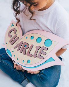 1st Birthday Gifts, Baby Birthday, Birthday Wishes, Kids Gifts, Baby Gifts, Baptism Gifts For Girls, Name Puzzle, Board For Kids, Montessori Toys