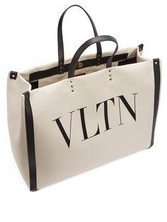 fbdea70da7db VLTN canvas tote bag | Valentino | MATCHESFASHION.COM JP