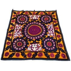 Embroidered Suzani Textile