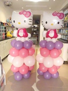 Hello Kitty Theme Columns by @Fantasyparty