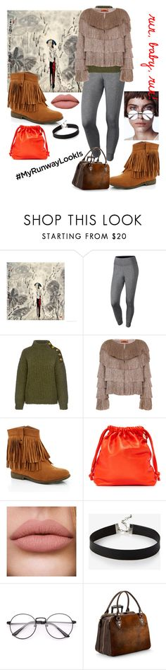 """""""#runway #look #travel #set #syberia_art"""" by margosedih ❤ liked on Polyvore featuring NIKE, Boutique Moschino, Missoni, Lady Godiva, Clare V., Express and Aspinal of London"""