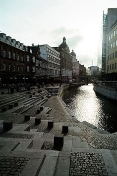 Aarhus waterfront #denmark #Aarhuswaterfront #Århus #Aarhus - #Denmark's second-largest city, a place that finds the perfect balance between history and vibrant innovation http://smartraveller.it/2014/02/07/arhus-la-citta-del-sorriso