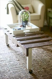 Pallet Coffee Table   ---   #pallets