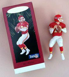 1995 Hallmark Keepsake Joe Montana Kansas City Chiefs Complement   eBay