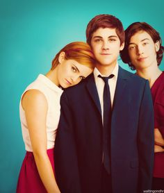 Perks of Being a Wallflower... Was pleasantly surprised that the movie was able to even hold a candle to my favorite book