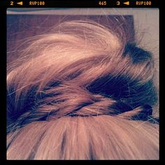 rope braid around the bun
