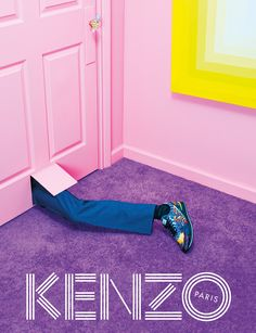 Unfamiliar worlds: Parisian fashion (power) house KENZO does distorted dimensions for AW14
