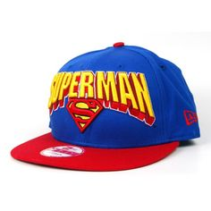 New Era Hero Block Superman Snapback Cap in Blue with Red for £23.50 at  Urban d36367abe5a