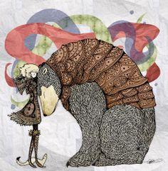 go well, Lyra Silvertongue - The Golden Compass - His Dark Materials Iorek Byrnison, The Golden Compass, His Dark Materials, Fanart, Copics, Illustrators, Book Art, Fantasy Art, Concept Art