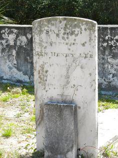 "He fought for Gen. George Washington, he fathered Confederate Gen. Robert E. Lee: ""Light Horse"" Harry Lee, Cumberland Island, GA"