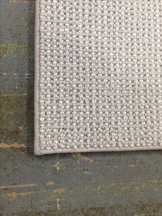 Wool Carpet - Serged with gorgeous cotton serging