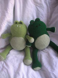 Ferdinand the Frog  Amigurumi Crochet Plush by daveydreamer, $3.50