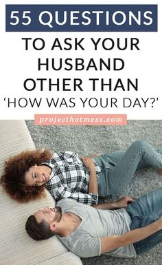 Sick of asking your husband 'How was your day?' and other boring questions? Kick off some awesome conversations with these 55 Questions to Ask Your Husband. First Year Of Marriage, Marriage Help, Marriage Relationship, Relationship Problems, Happy Marriage, Marriage Advice, Love And Marriage, Relationships Are Hard, How To Improve Relationship
