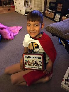 Welcome the incredible Super Jayden to the TinySuperhero community!! We are SO lucky to have you Jayden!