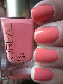The Queen of the Nail: L'Oreal 'Orange You Jealous' and Revlon 'Heavenly'