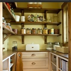 Walk in pantry (houzz)