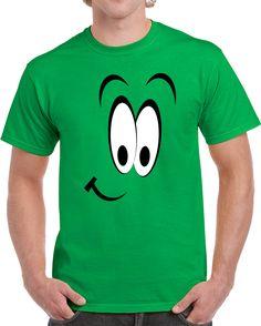 Surprise Curious Face Emoticon  T Shirt