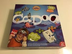 Cranium Cadoo Deluxe Game 300 New Cards 2007 Learning Kids Ages 7 Playes 2 | eBay