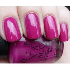 OPI All That Razz-berry Nail Polish, (nail lacquer)