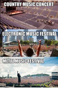 Country-Electronic-Metal-Music