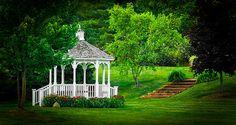 """ Gazebo Gardens I "" fine art prints available."
