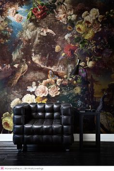 Fotobehang / Digital Wallpaper collection Dutch Masters by Katarina Stupavska… Modern Wallpaper, Wall Wallpaper, Wall Colors, House Colors, Boho Home, Inspirational Wallpapers, Interior Decorating, Interior Design, Interior Inspiration